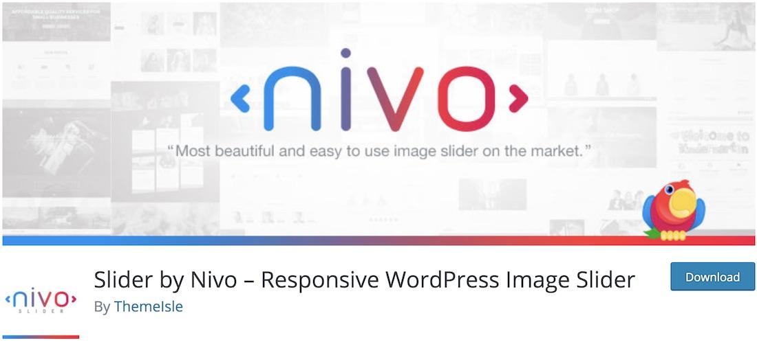 nivo slider lite wordpress plugin