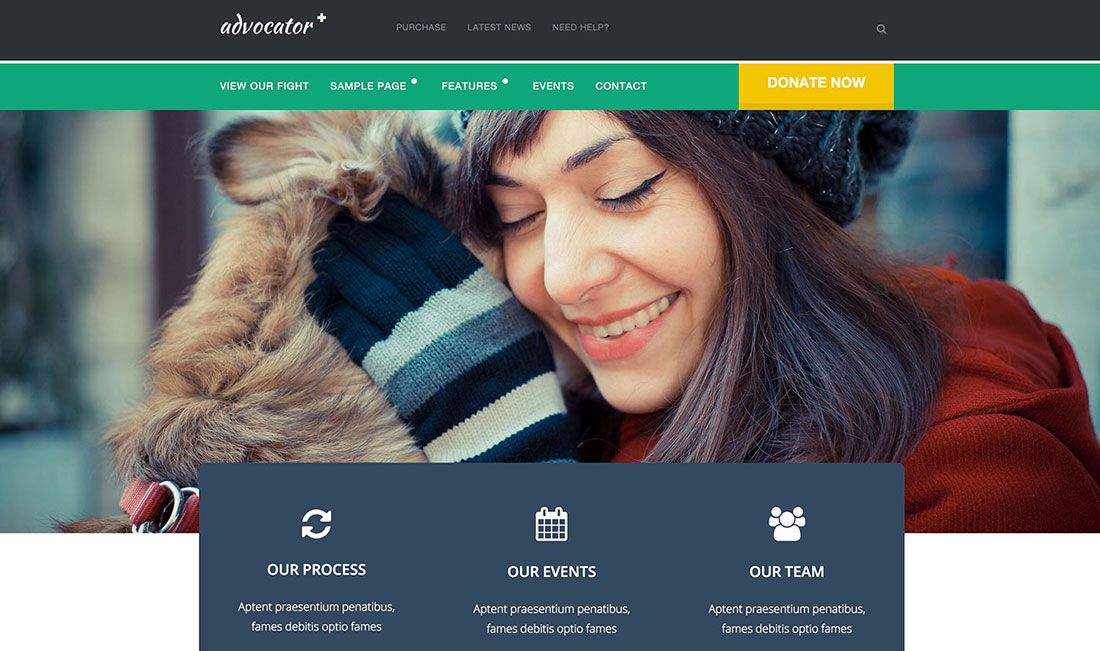 15 Best WordPress Themes For Non-Profit, Charity and Fundraising Organizations 2014