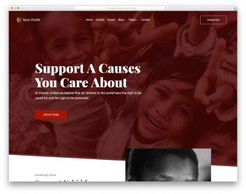 Nonprofit Free Template