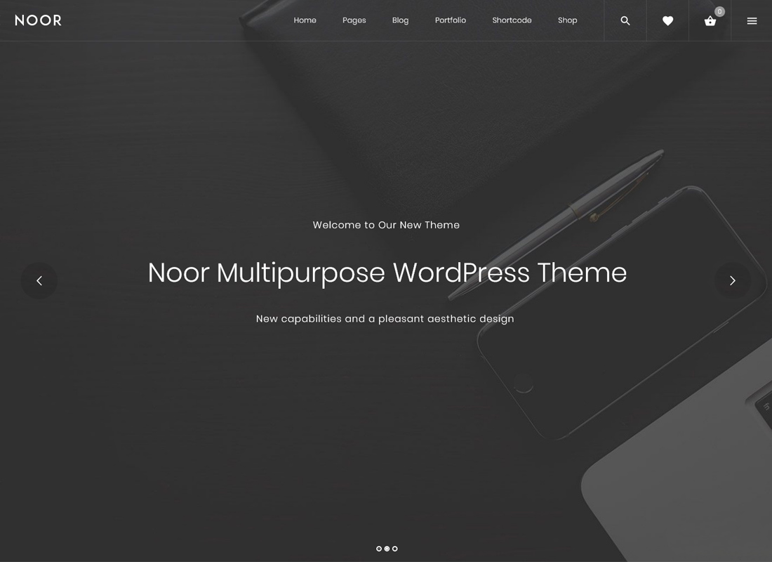 Noor - Multi-Purpose & Fully Customizable Creative AMP Theme
