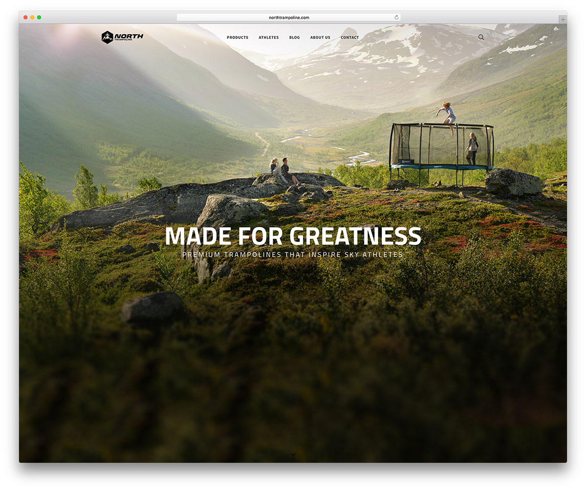northtrampoline-ecommerce-website-example