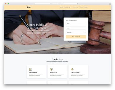 Notary Free Template