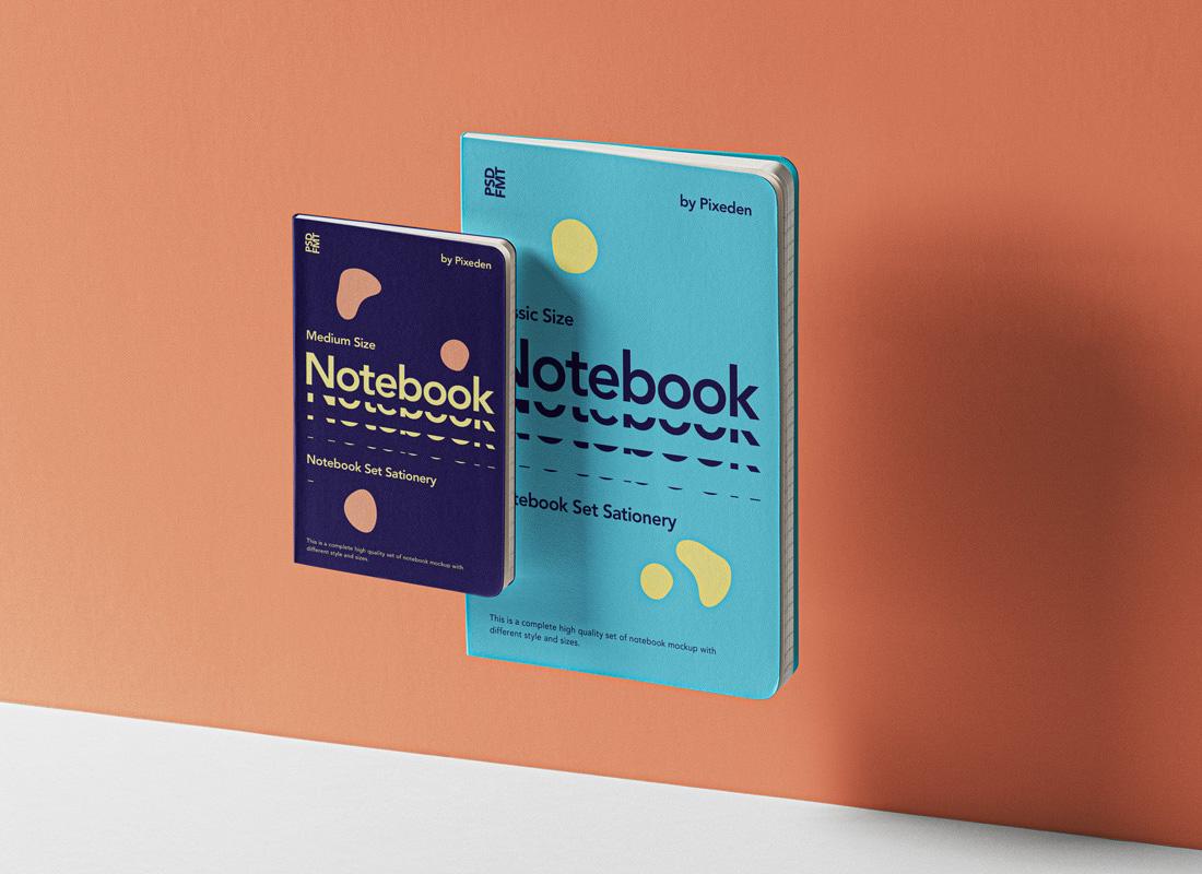 23 Best Notebook Mockup Templates [Free & Premium] 2020
