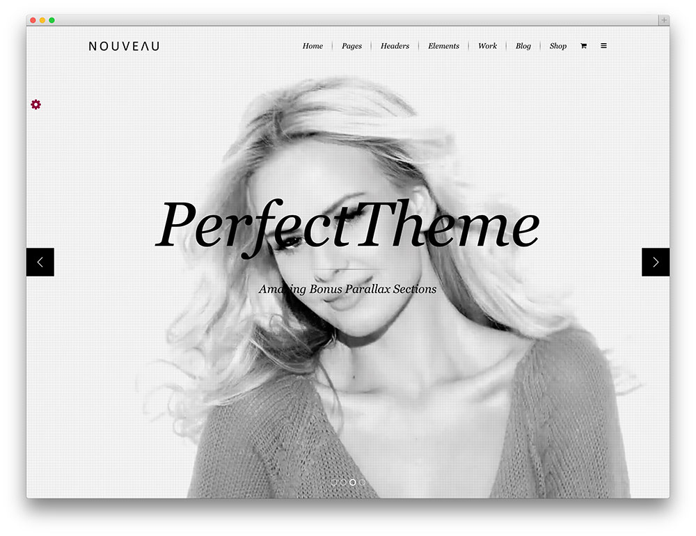 nouveau fashion WordPress theme