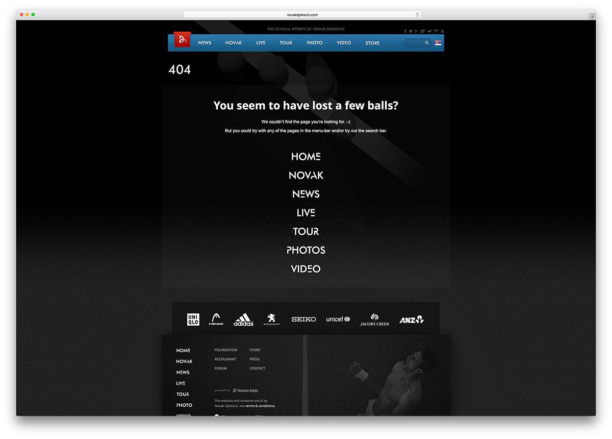 novakdjokovic-creative-404-error-page-example