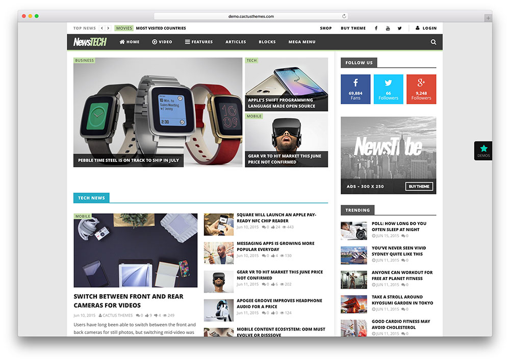 nrestube-tech-news-wordpress-theme