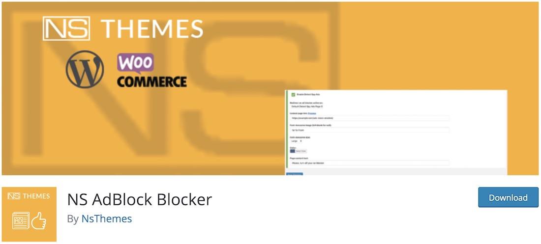 ns adblock blocker plugin