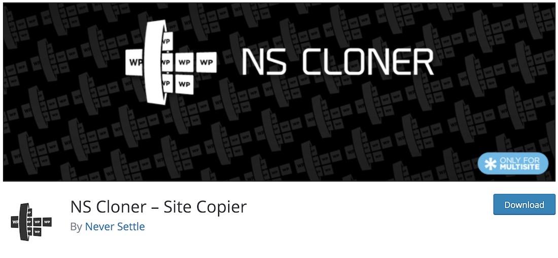 ns cloner free wordpress multisites plugin