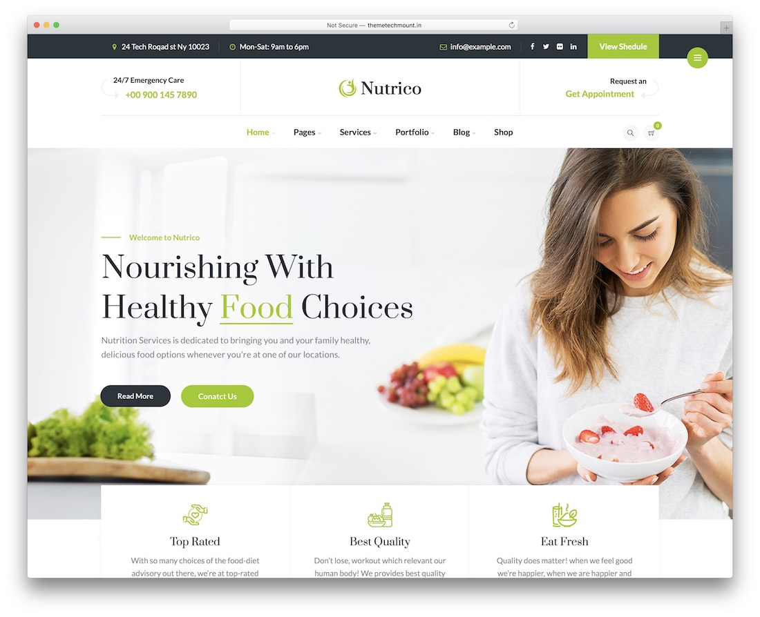 nutrico affiliate wordpress theme