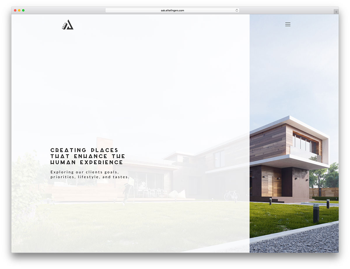 Best wordpress themes for architects and architectural for Types of architecture design