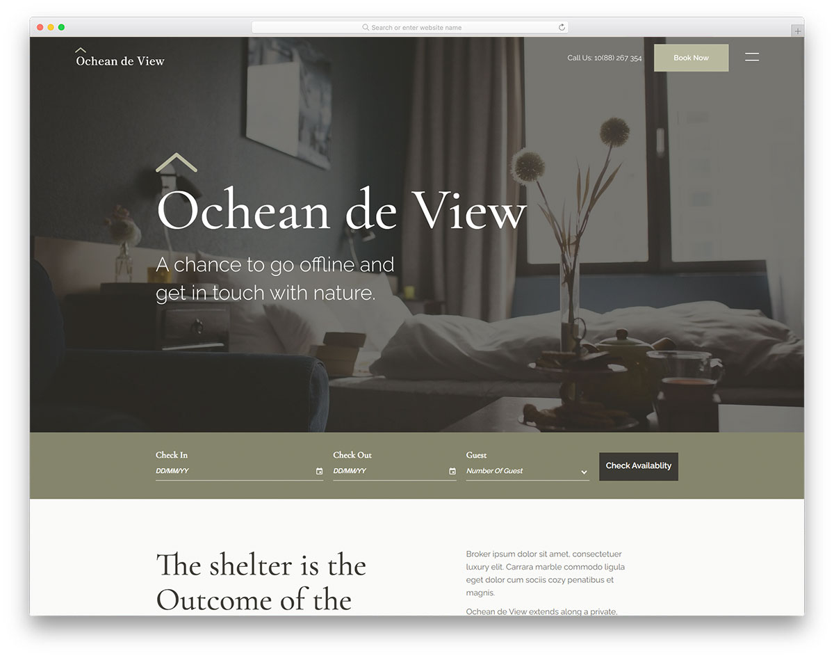 Ocheandeview Colorlib Template