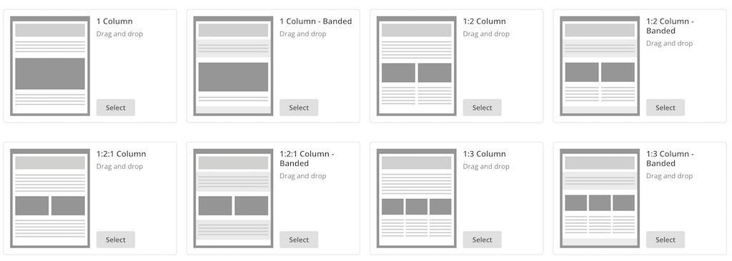 official mailchimp templates