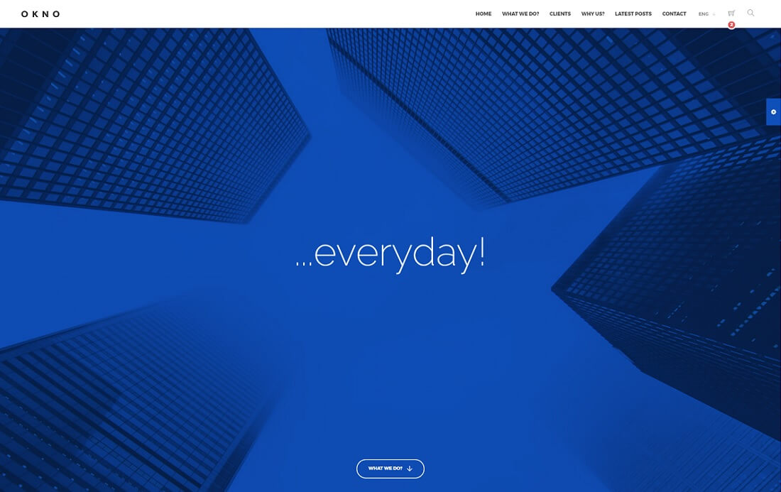 okno bootstrap business website template