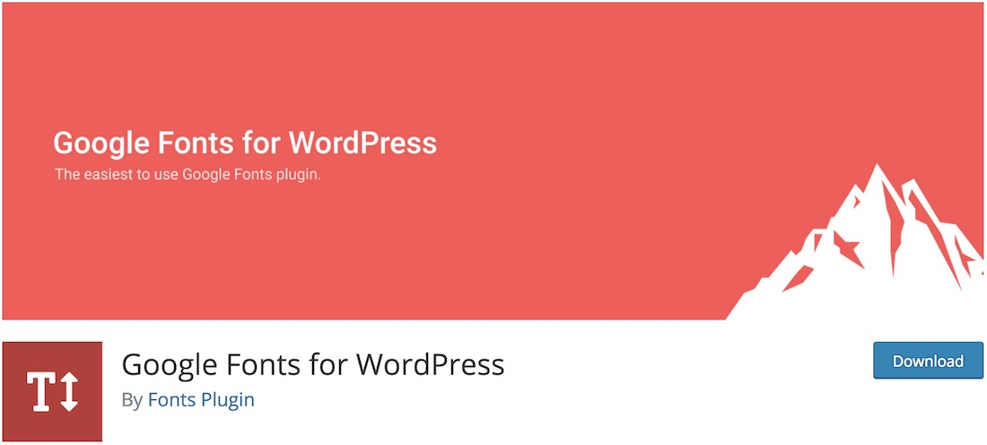 plugin wordpress de polices google olympus