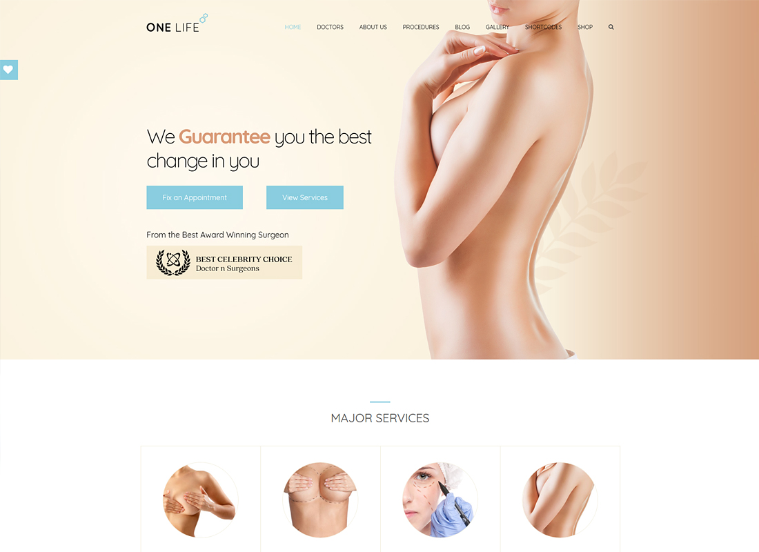 OneLife Medical | Medical, Health WordPress Theme