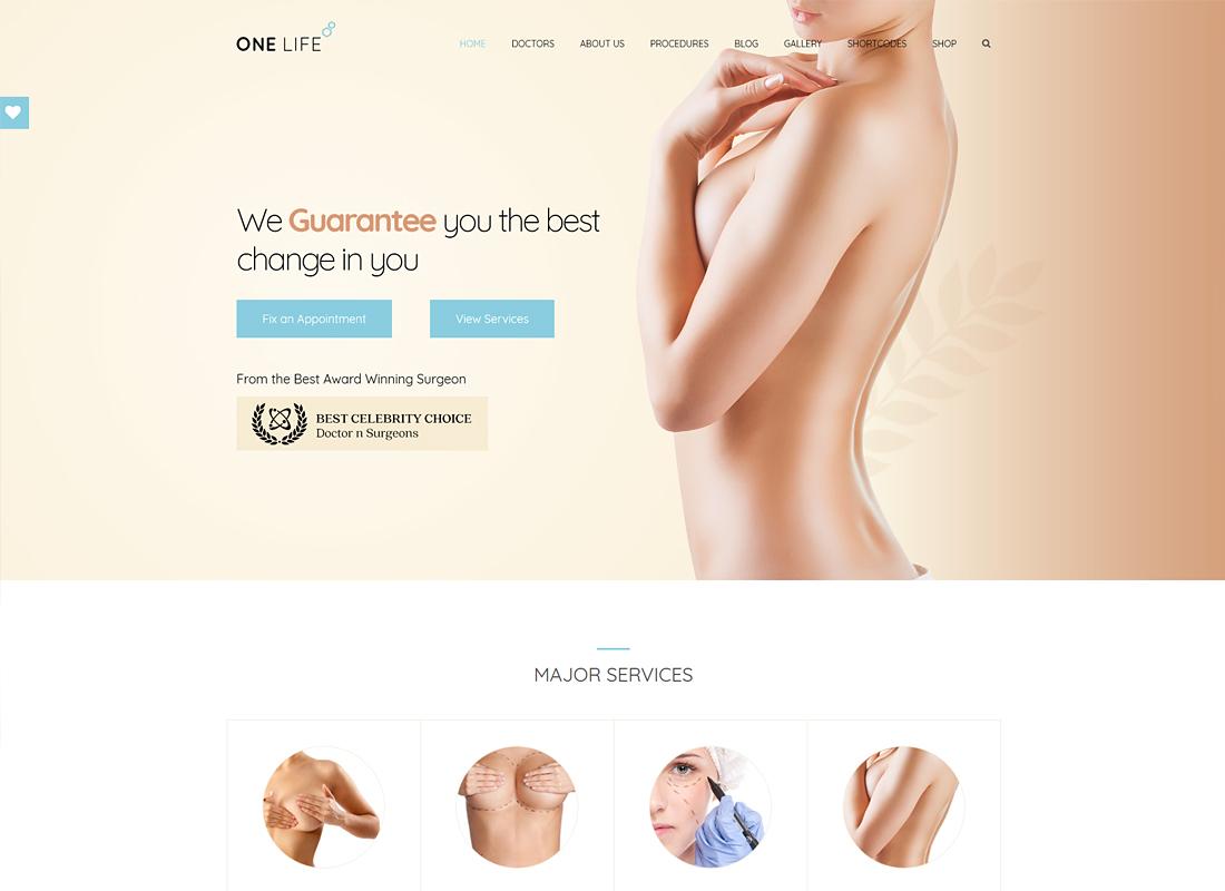 OneLife Medical | Medical, Health WordPress Theme