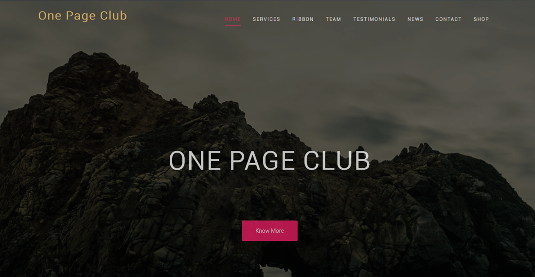 one-page-club