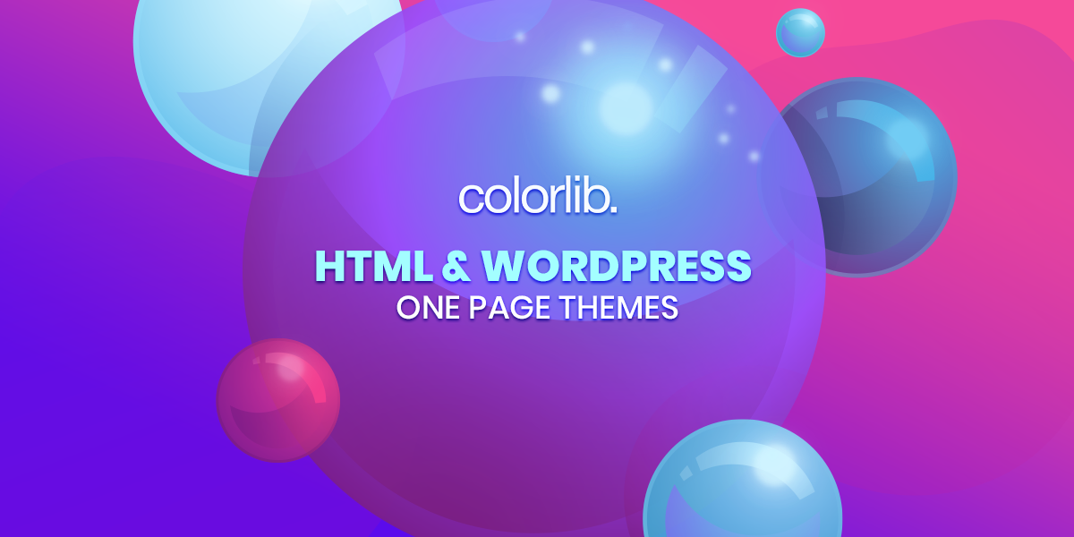 12+ Best HTML & WordPress One Page Templates