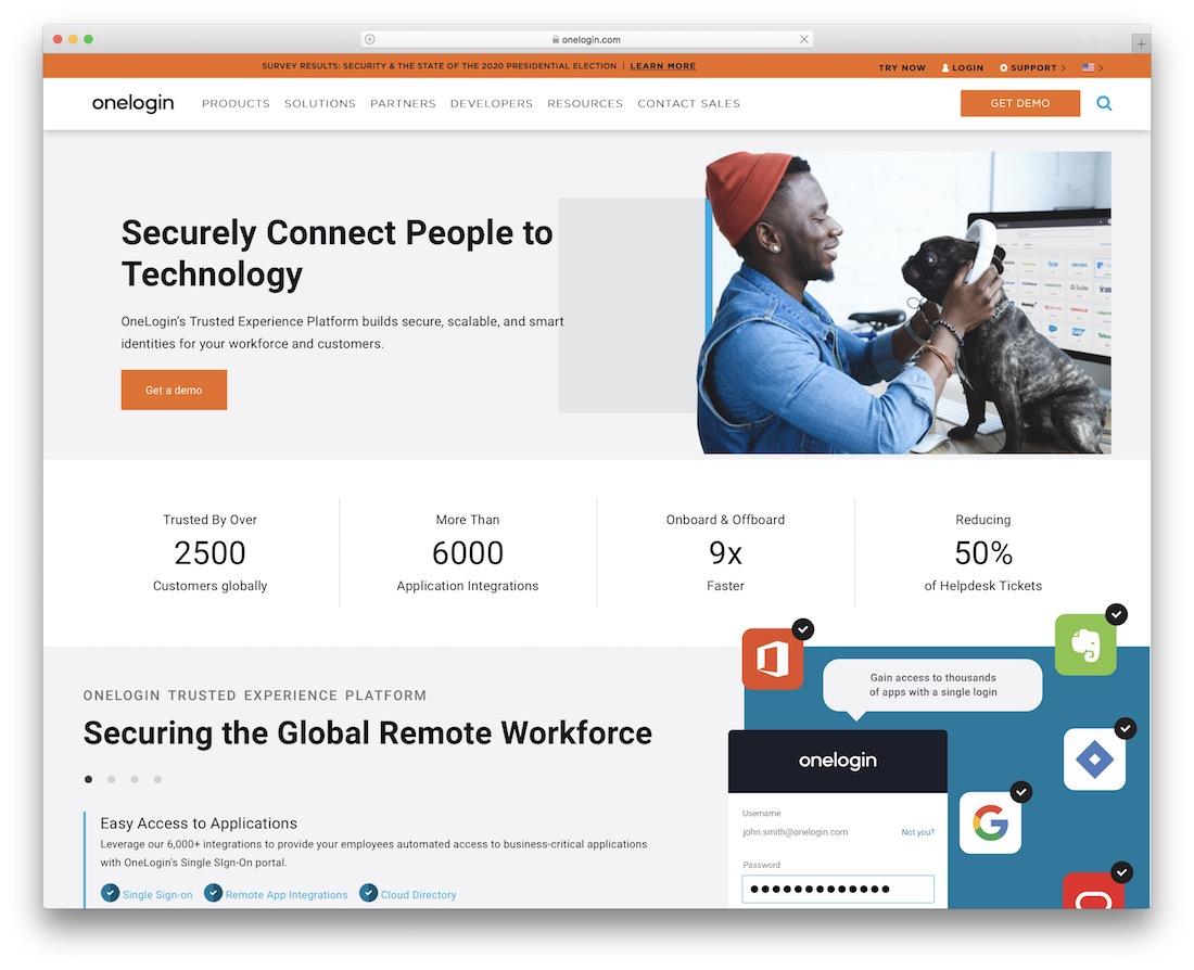 onelogin security tool