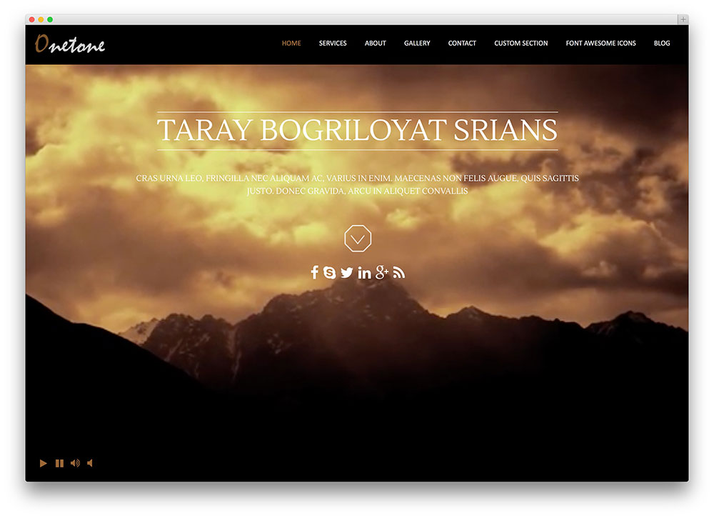 Parallax Scrolling WordPress Themes With Parallax Background, Header ...