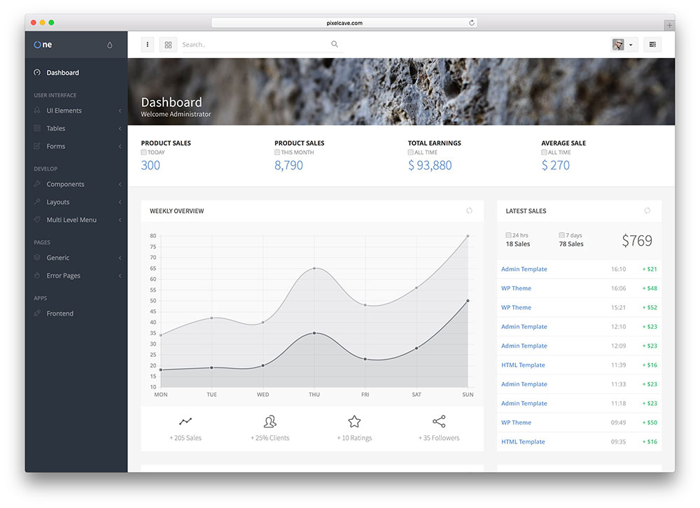 oneui-html5-bootstrap-admin-template