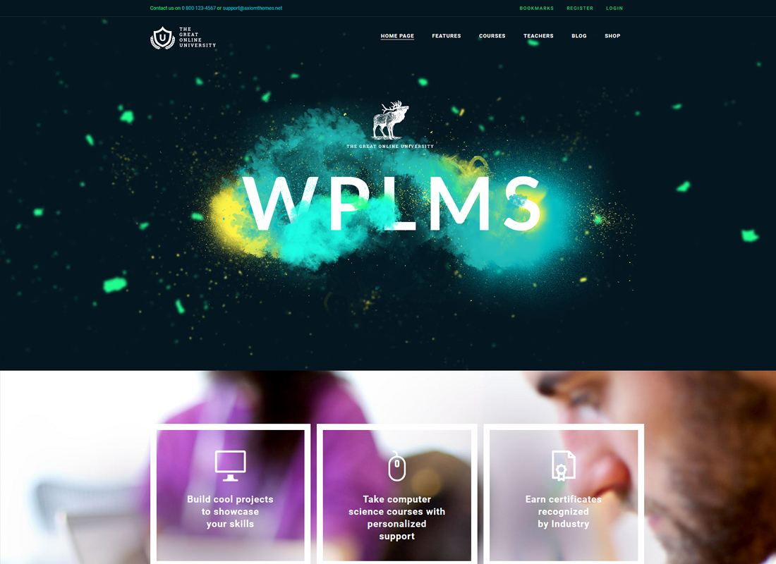 Online University | Education LMS WordPress Theme