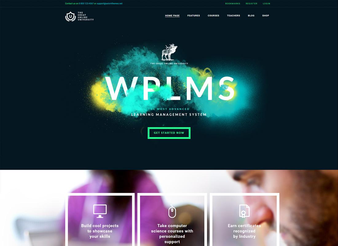 Online University | Education LMS WordPress Theme