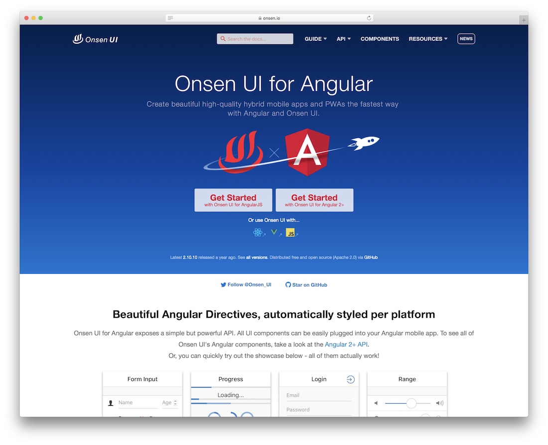 onsen ui for angular