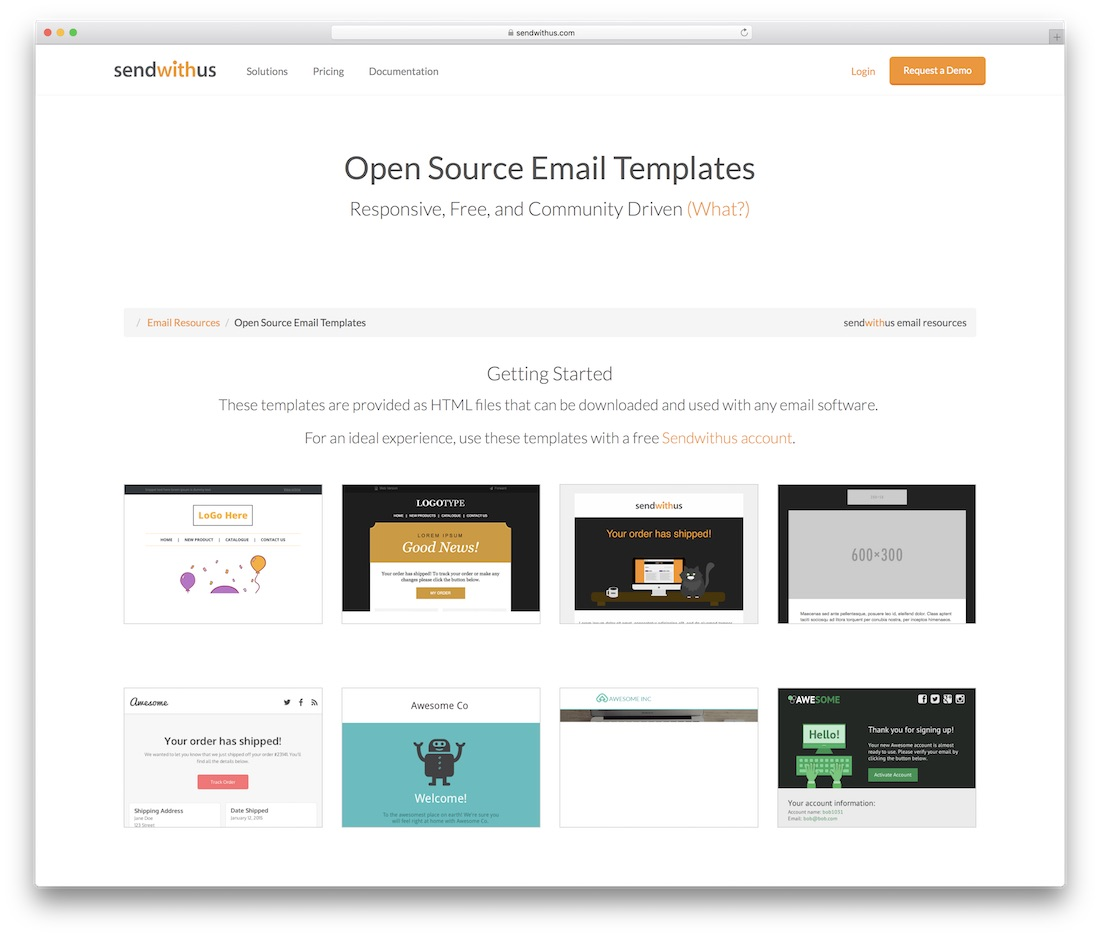 Best Free Responsive HTML Email Templates - Open source email templates