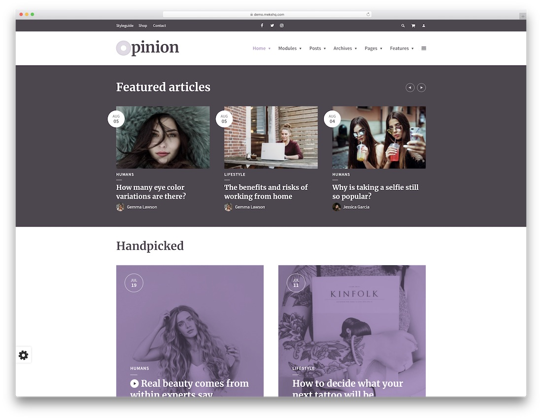opinion beautiful wordpress theme