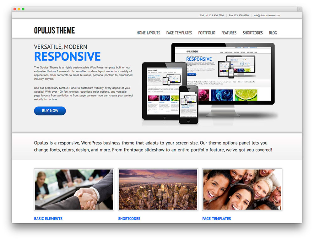 Opulus WP Theme