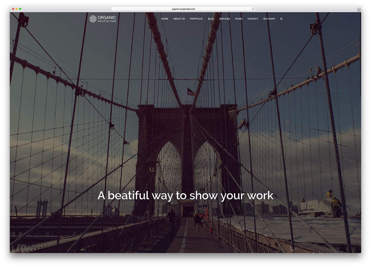 organic-fullscreen-architect-wordpress-website-template