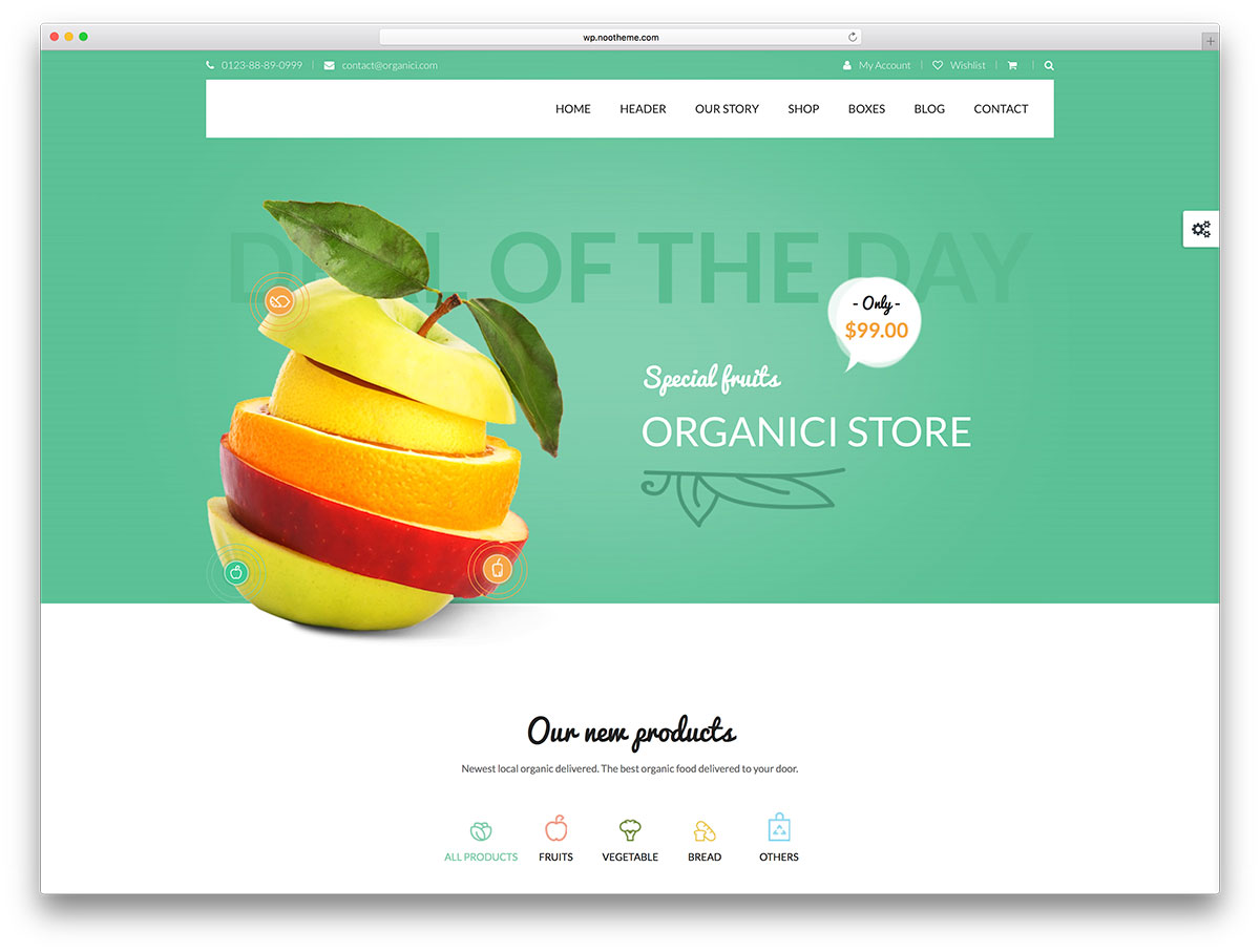 organici-organic-food-store-wordpress-theme