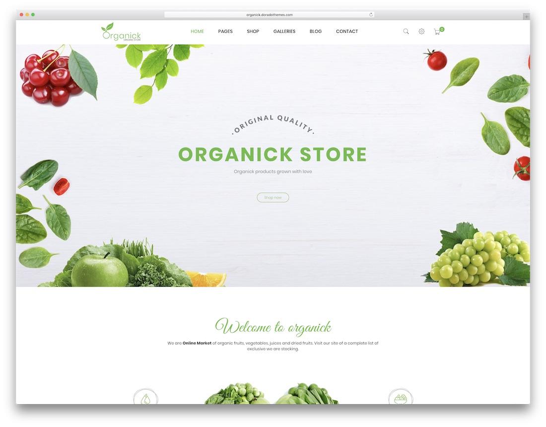organick prestashop theme