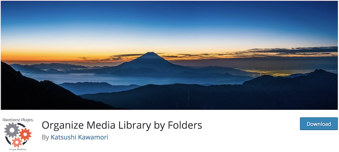 organize media library wordpress plugin