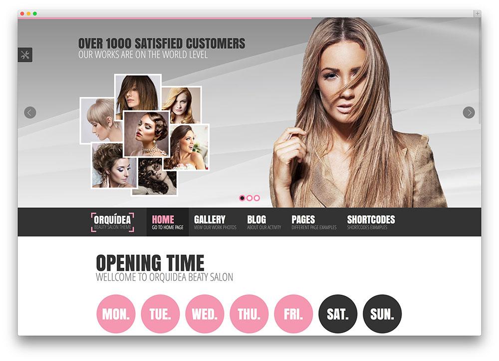 20 Beautiful Spa & Beauty Salon WordPress Themes 2017 - Colorlib