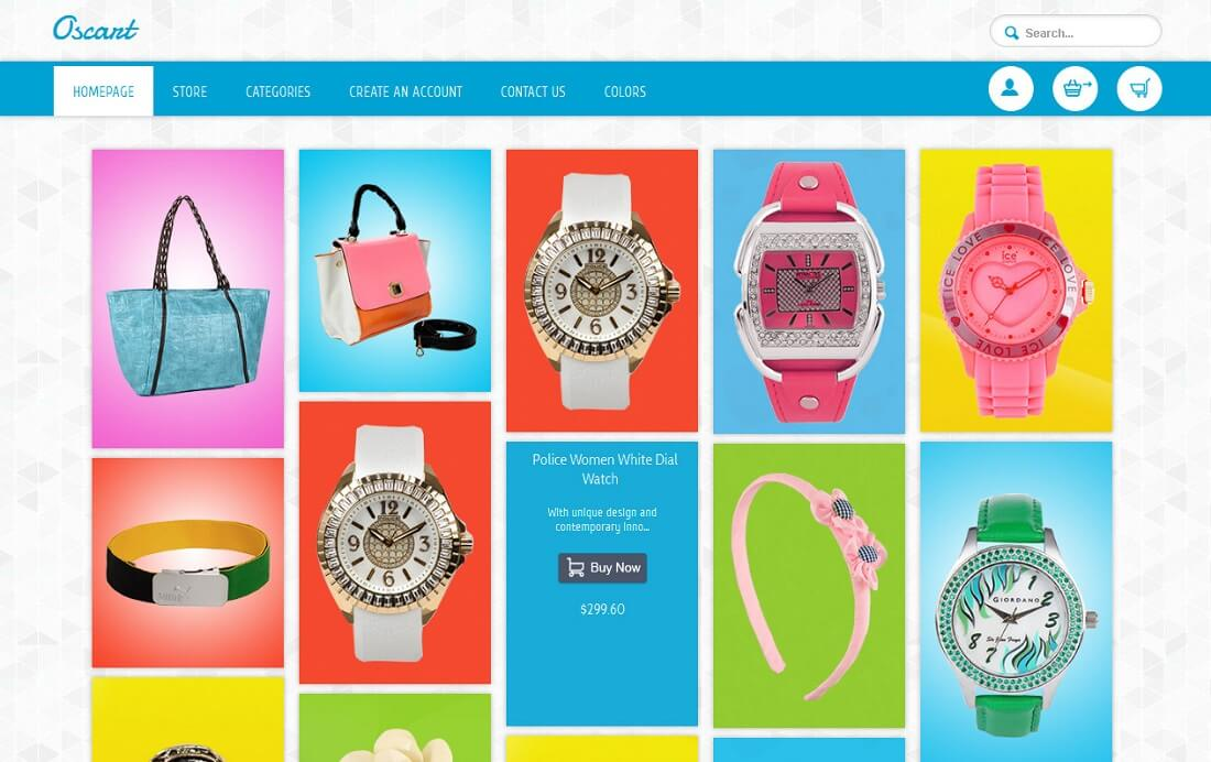 oscart oscommerce template