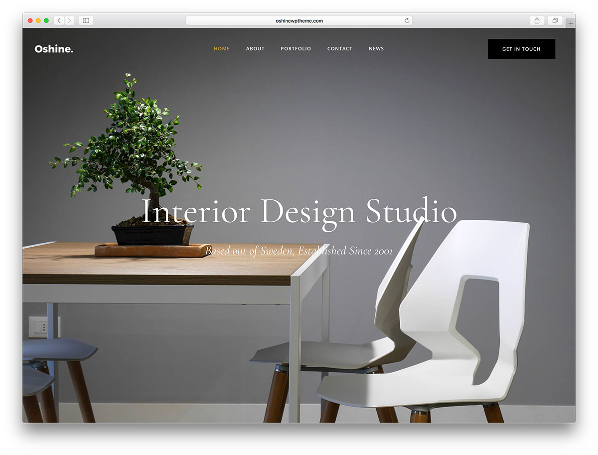 Inspite Of A Being A Multi Purpose Theme, It Has Demos Tailor Made For  Interior Designers And Architects. With Its Wide Array Of Portfolio ...