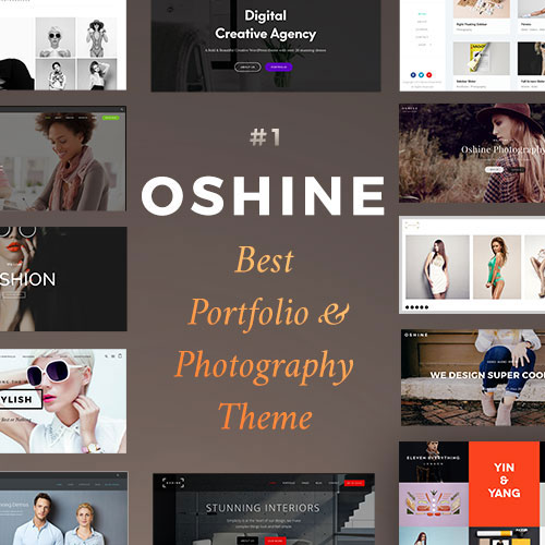 Oshine theme on colorlib