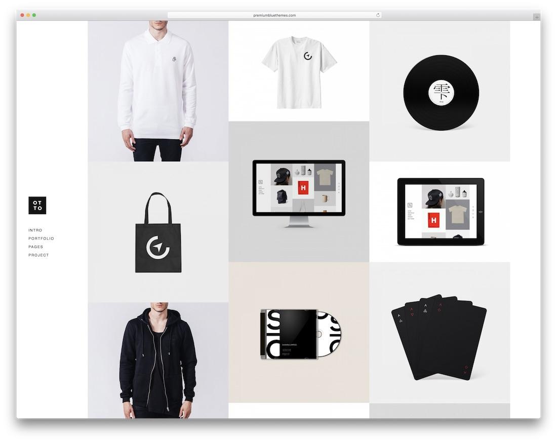 otto joomla portfolio template