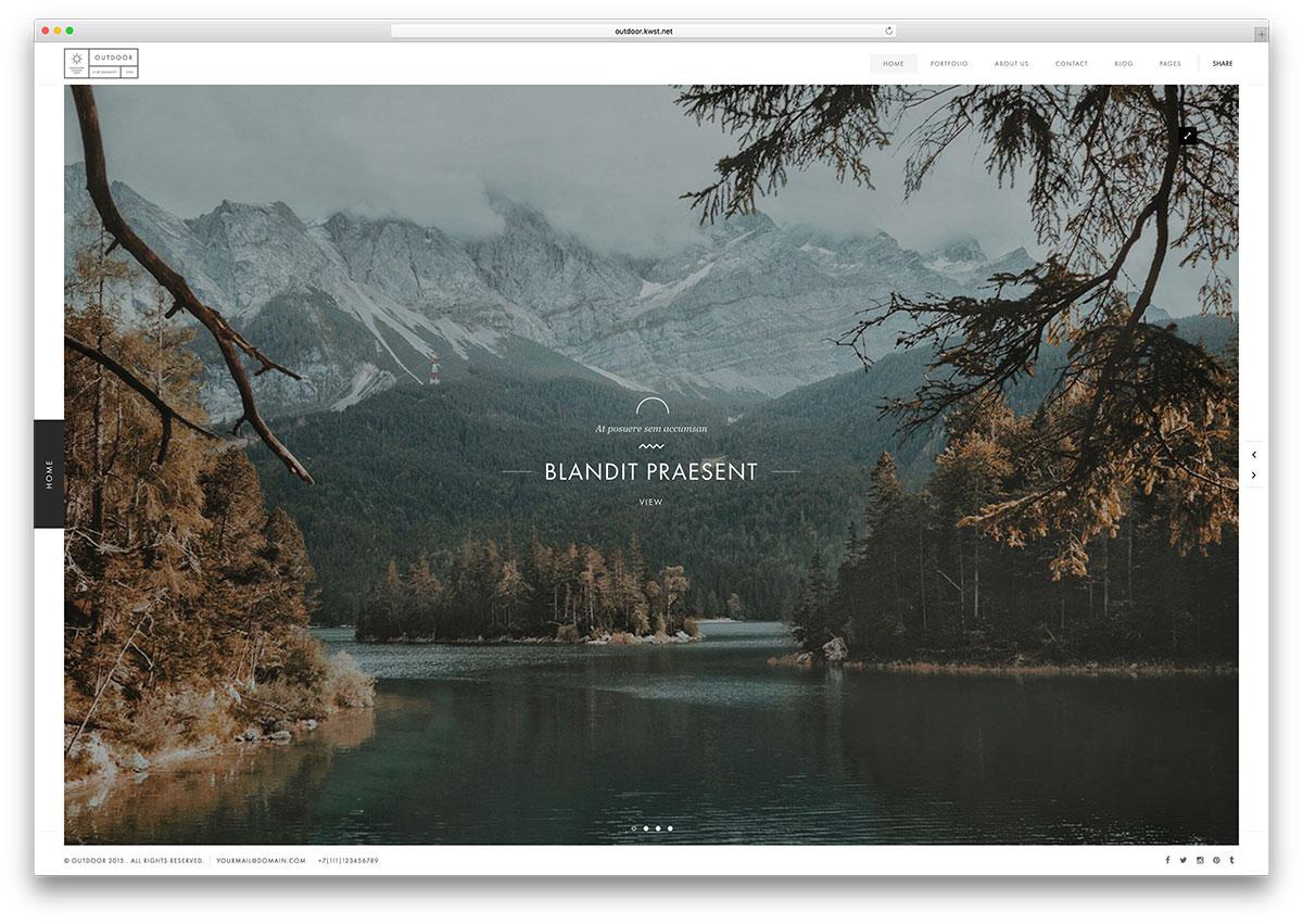 outdoor-fullscreen-html5-website-template