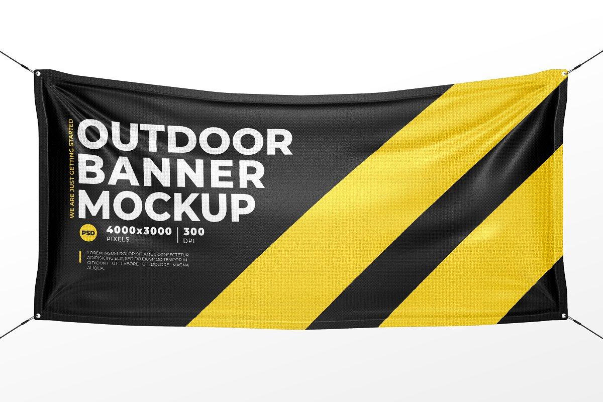 Top 20 Banner Psd Mockups For Fantastic Banner Advertising Colorlib