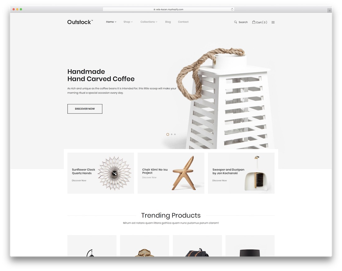 outstock best shopify theme