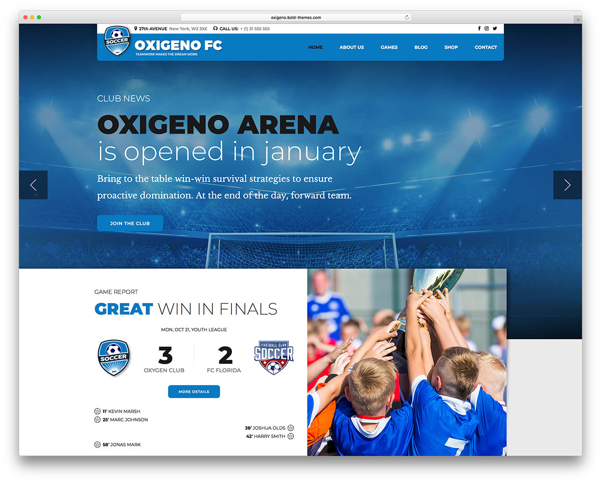 42 WordPress Sports Themes For Magazines & Sports Teams 2019
