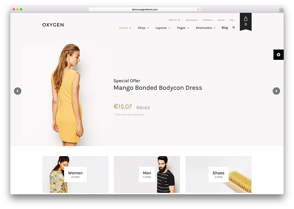 oxygen-simple-webshop-woocommerce-theme