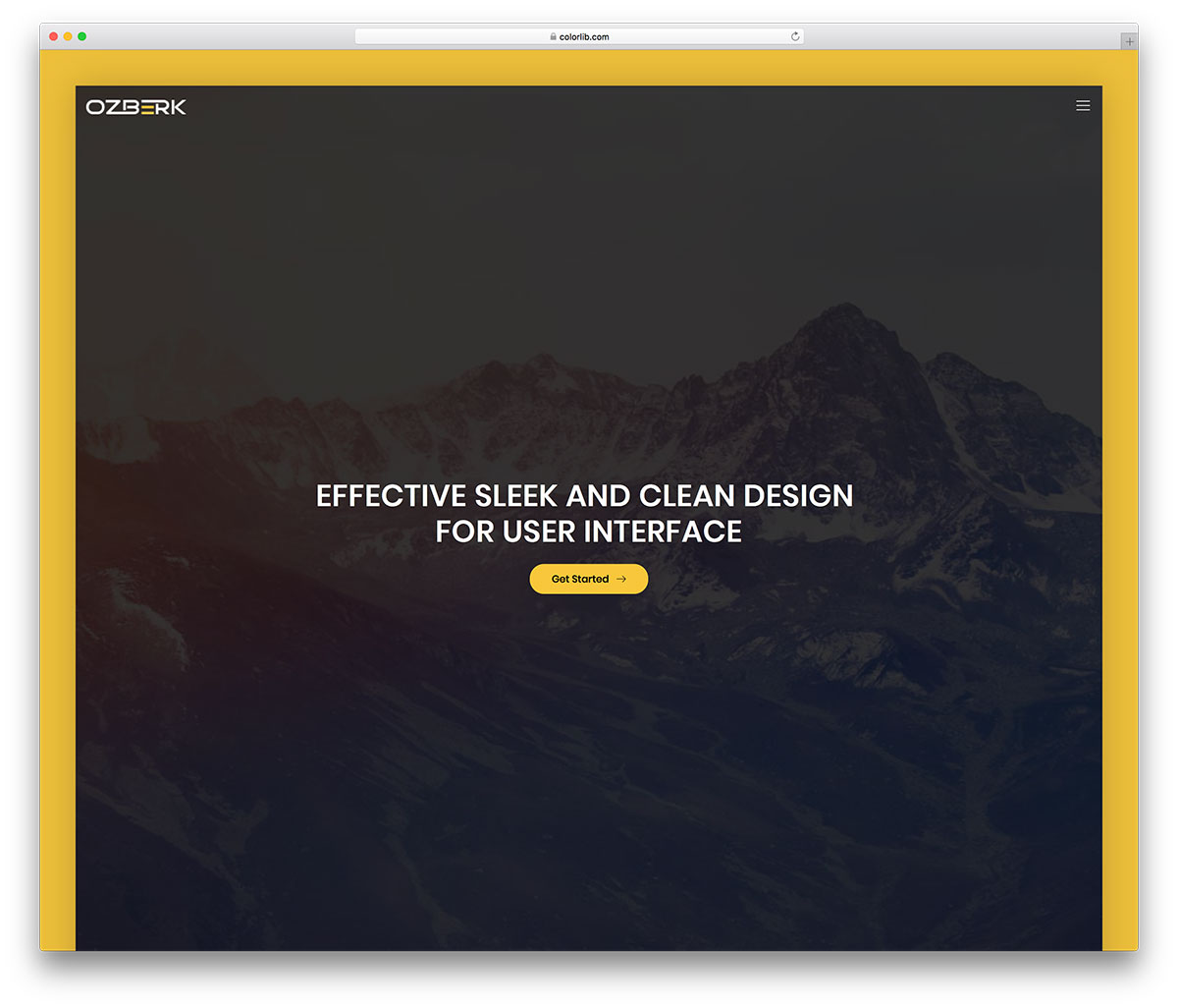 ozberk is a creative website template with fresh new look and design it is a multi page website template with all the basic pages pre designed for you so