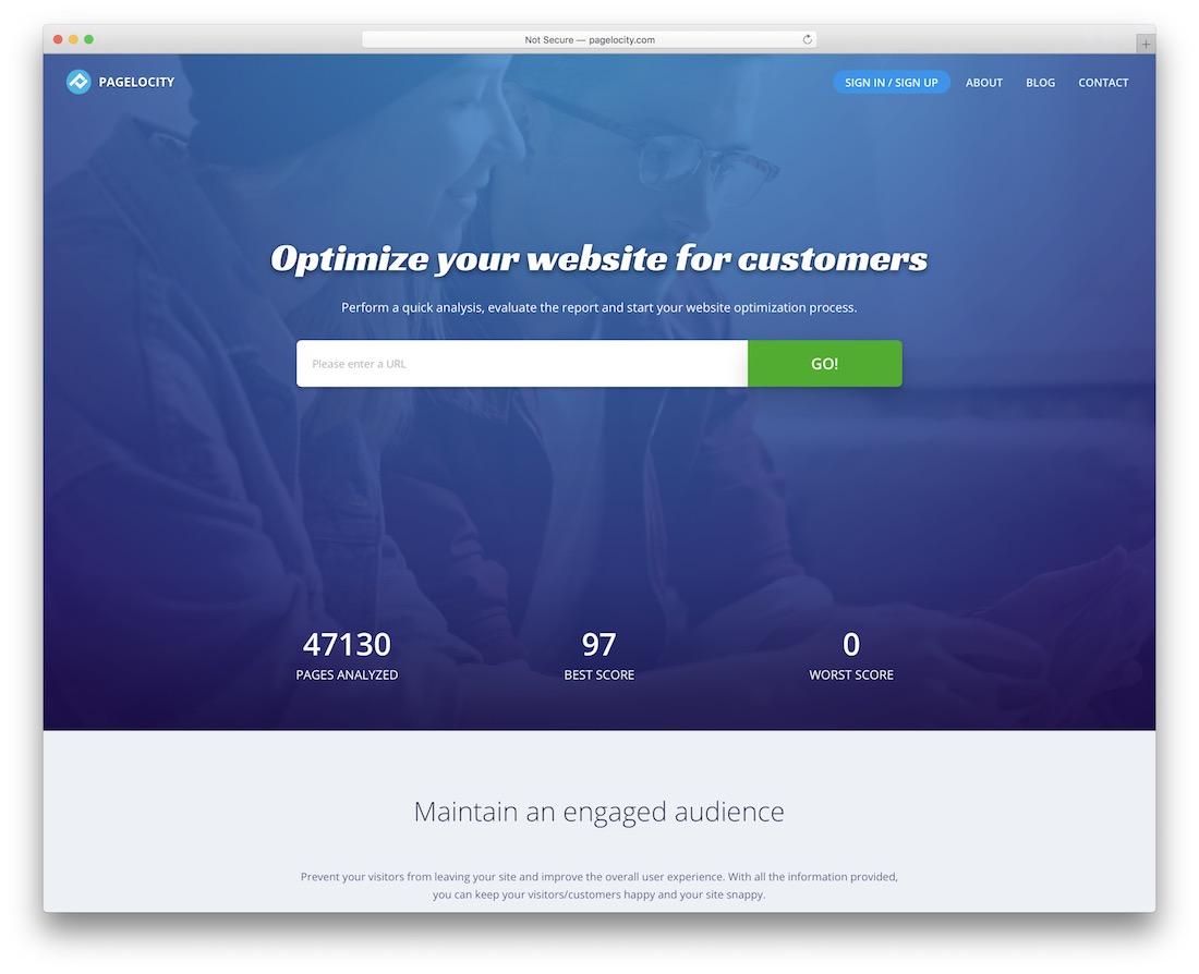 pagelocity website performance optimization tool