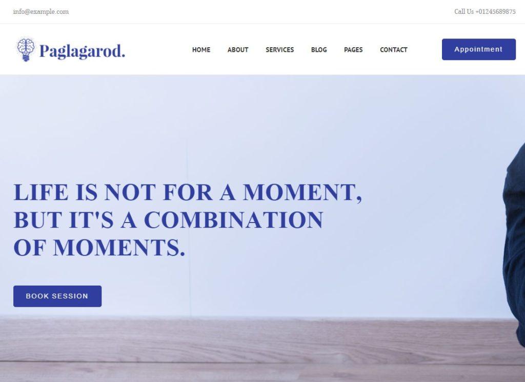 Paglagarod | Psychology & Counseling WordPress Theme