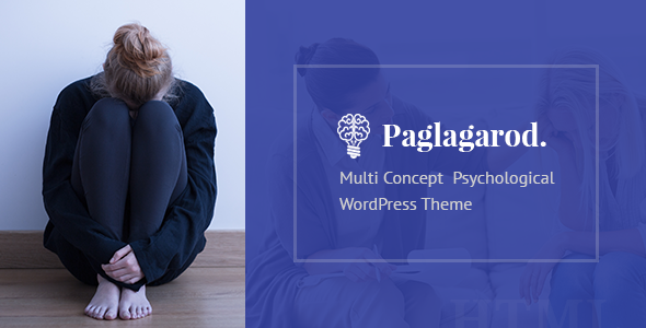 Paglagarod | Psychology & Counseling WordPress Theme