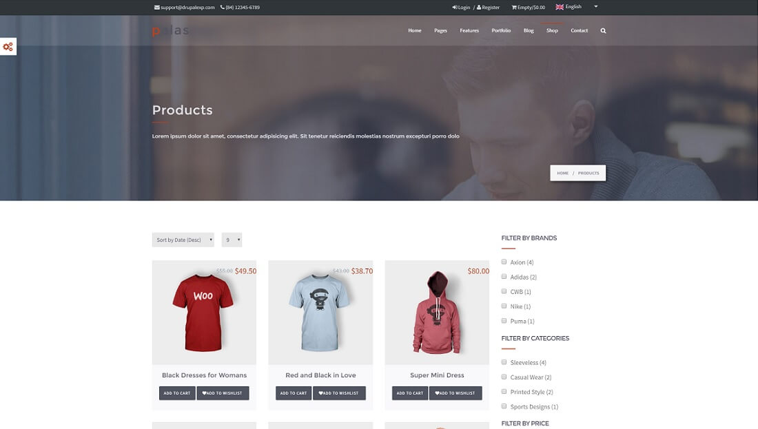 palas drupal commerce template